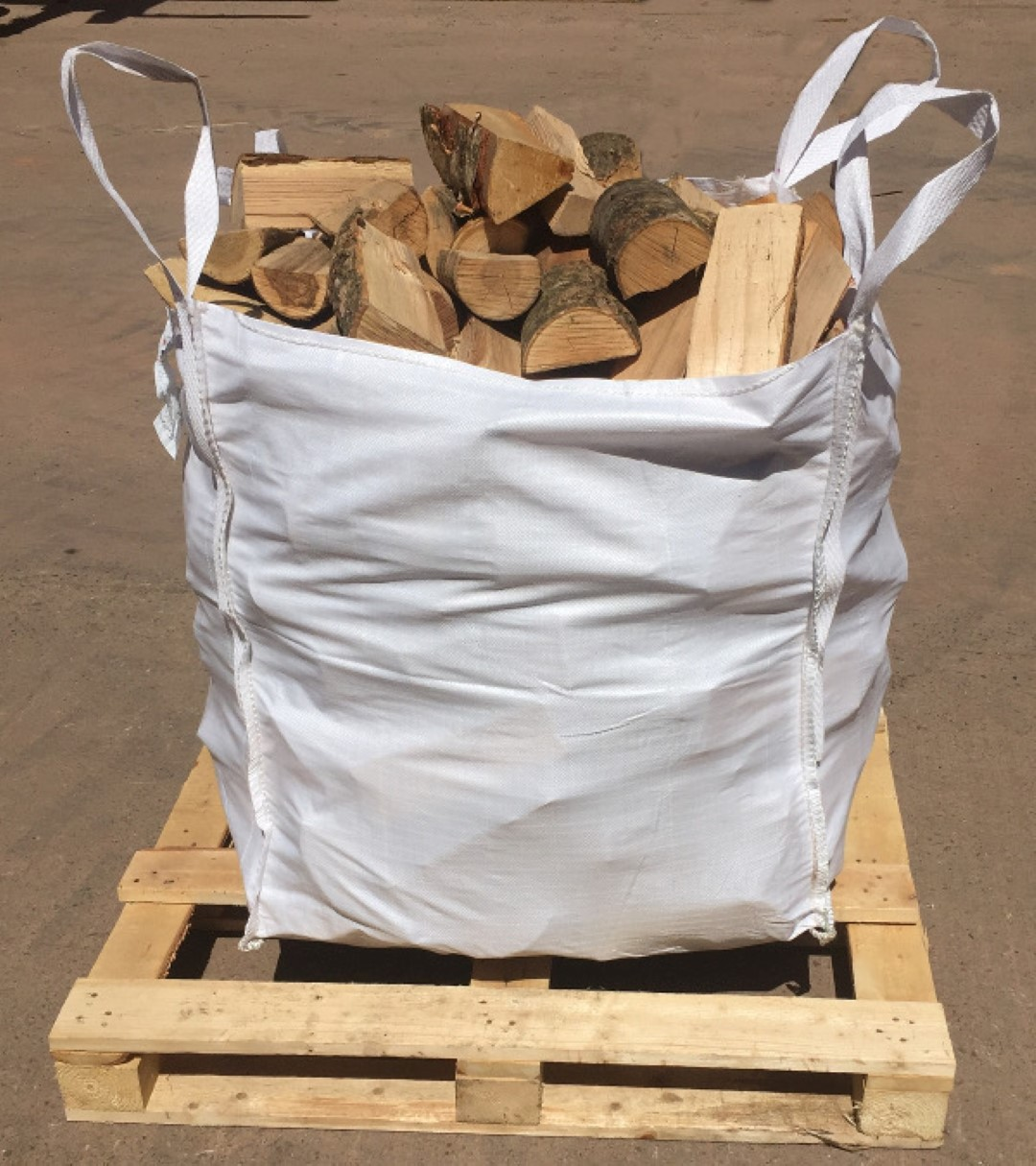 Kiln dried hardwood dumpy bag