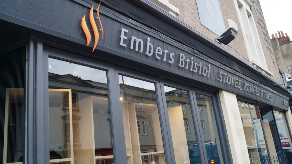 Embers Bristol showroom stoves