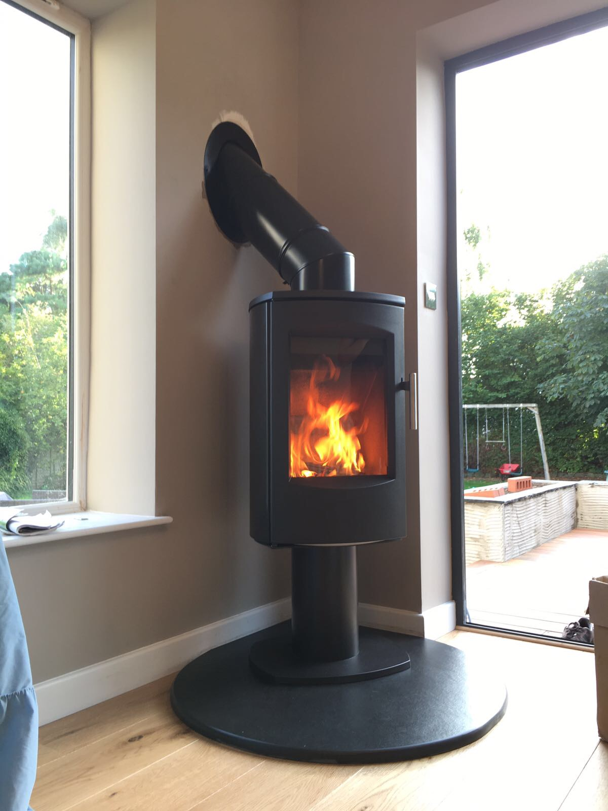 Stove Installation In A Property With No Chimney