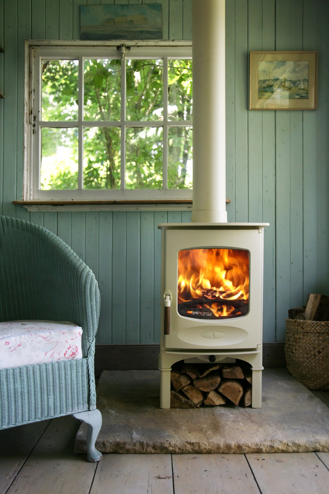 wood burning stove installation blog