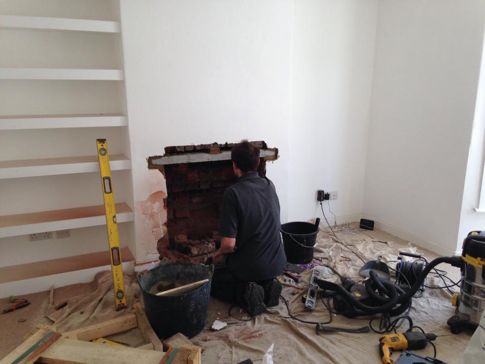Embers Bristol stove installation