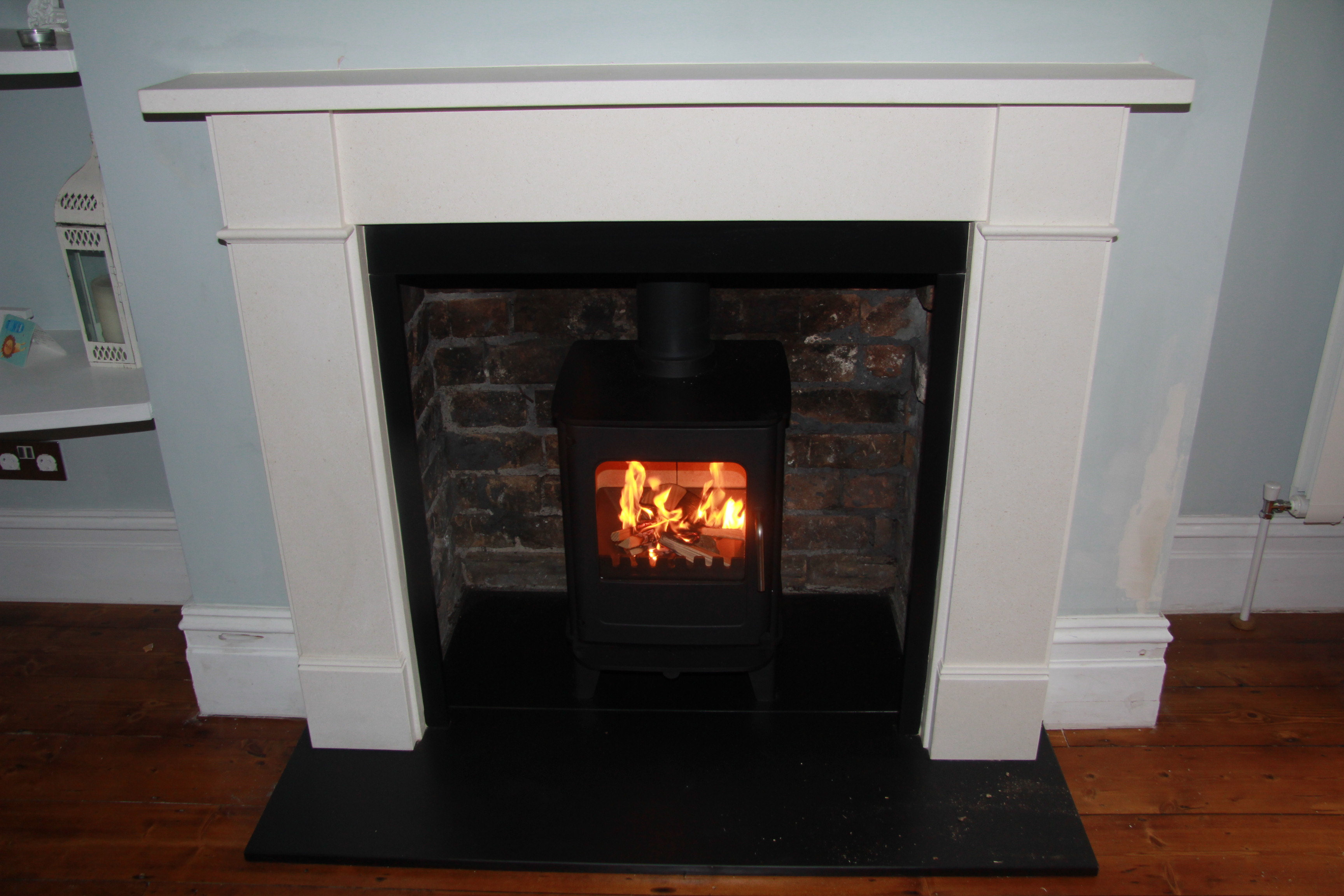 to install how watch youtube barn fireplace mantel a beam french cleat