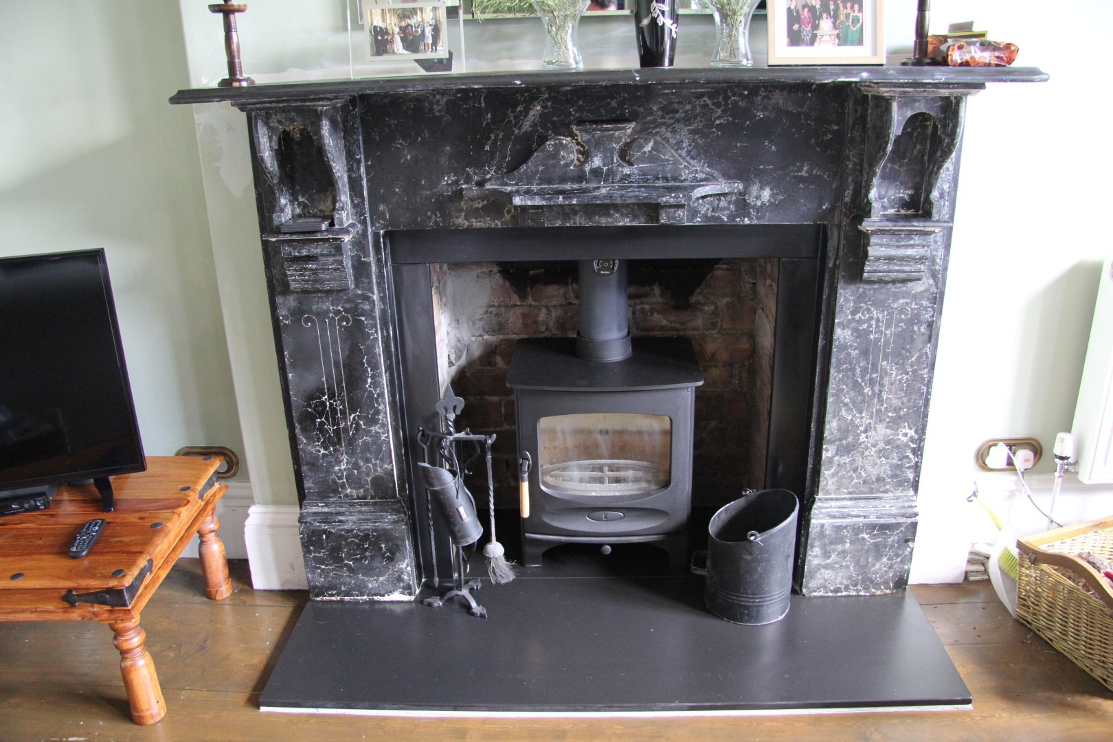 Embers Bristol wood burning stove installation in Bristol