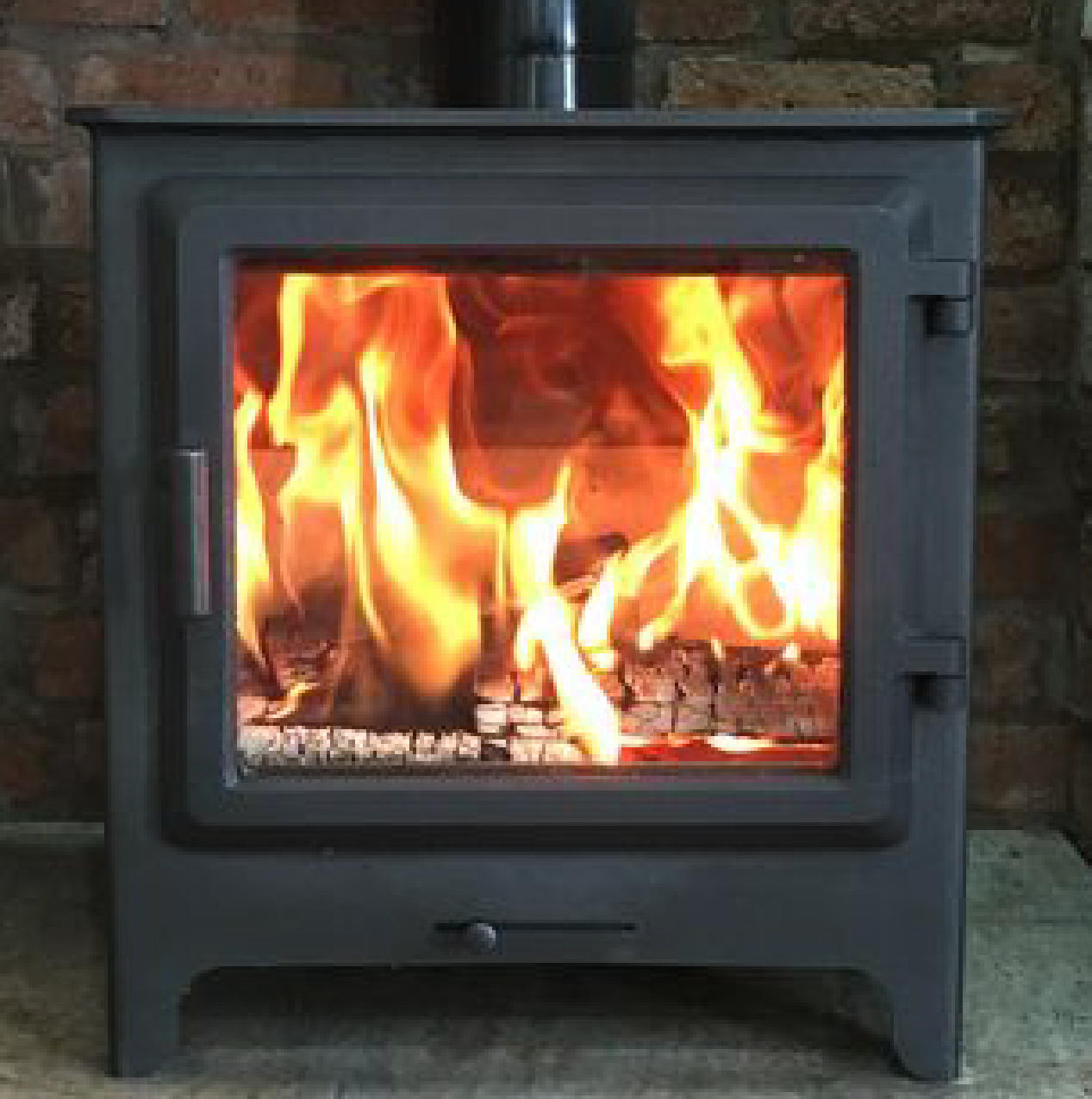 MERLIN SLIMLINE PLUS WOOD BURNING STOVES