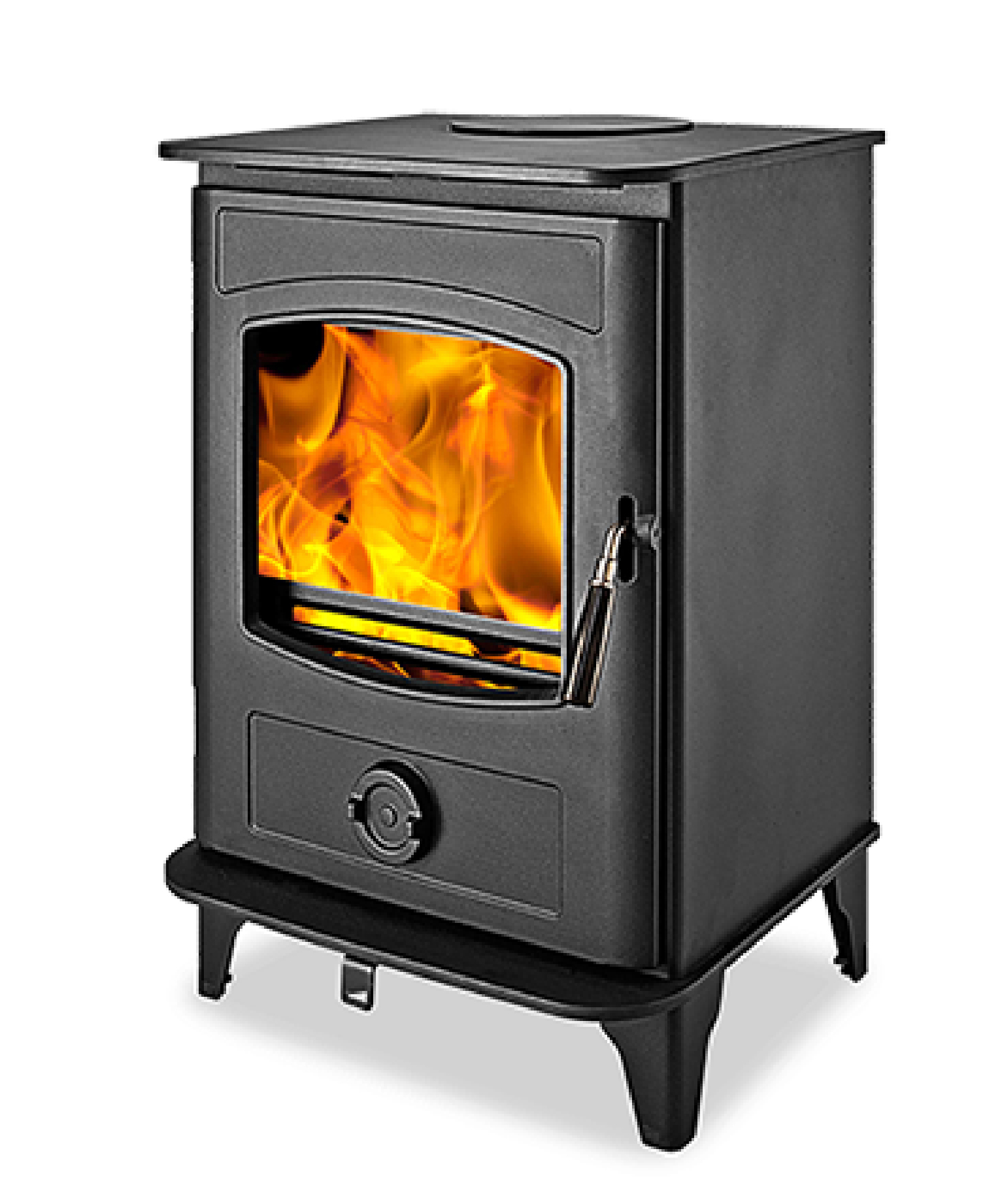 HI FLAME WOOD BURNING STOVE