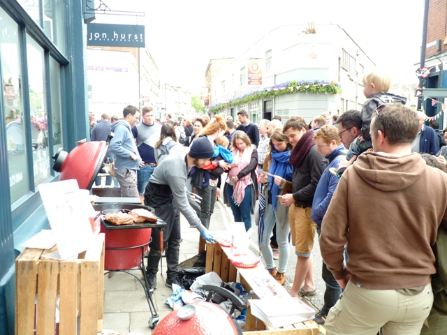 Embers take Kamado Joe to UK streets!